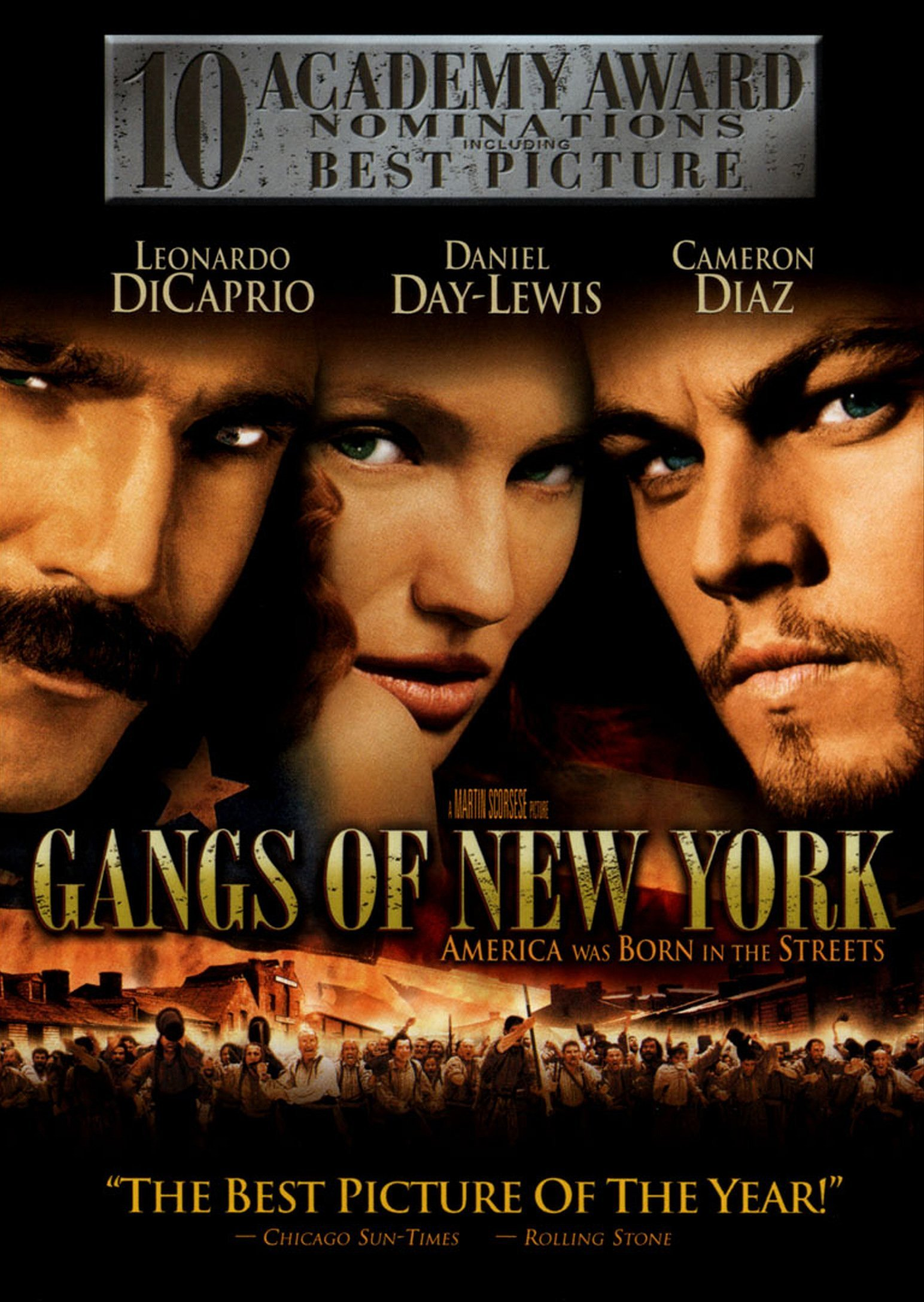 a review of scorseses gangs of new york By megan bianco martin scorsese's gangs of new york was released during a retrospectively impressive oscar season: rob marshall's chicago, roman polanski's the pianist, steven spielberg's .