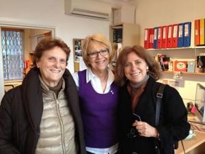 Casting London for Francesco together with Liliana Cavani and Priscilla John