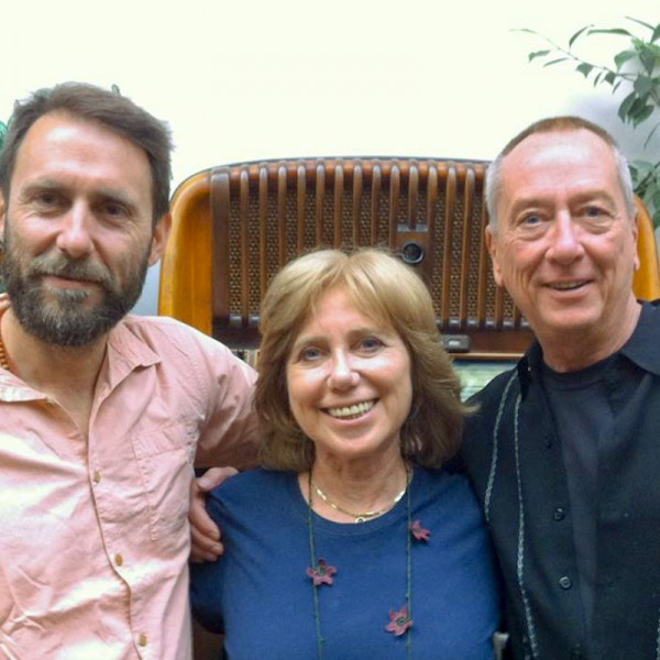 Barry Morrow with Lilia and ALessandro